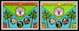 Kuwait, 1981, World Food Day, FAO, Food And Agriculture Organization, United Nations, MNH, Michel 916-917 - Kuwait