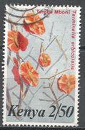 Kenya 1986. Scott #256 (U) Terminalia Orbicularis, Fleura, Flowers - Kenya (1963-...)