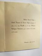 1950 CASAMIENTO, ENLACE. TARJETA. MARRIAGE, LINK. CARD. MARIAGE, LIEN. CARTE. - Seasons & Holidays