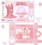 2017. Moldova, 50Leu/2015, UNC - Moldavië