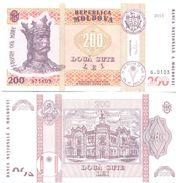 2017. Moldova, 200Leu/2015, UNC - Moldavië