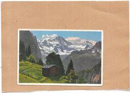 SUISSE - CPA  COLORISEE - Gebirgslandschaft Bel Wengen Breithorn Und Tschingelhorn  - BERG - - BE Berne