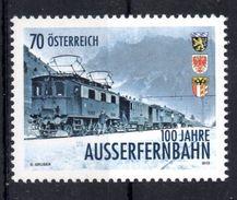 Austria 2013. Austrian Railways 100 Years.  Trains. MNH ** - 2011-... Unused Stamps