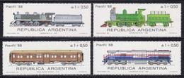SETS ARGENTINA Trains Railway MNH**  CV 4,2€ - Eisenbahnen