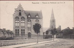 RUYSSELEDE Ruiselede Pastorij En Kerktoren Van OLV Kerk 1912 Uitg. Cesar Standaert 16777 ZELZAAM  (In Zeer Goede Staat) - Ruiselede