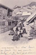Plaisirs D'hiver : Partie De Luge - Belle Carte Oblitérée Lausanne Le 8.XII.33 - Cartes Postales
