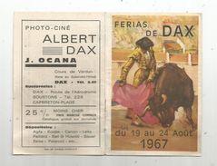Publicité , FERIA DE DAX , 1967 , 4 Pages, 3 Scans - Pubblicitari