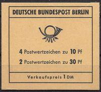 Berlin Juli 1970 / MiNr.  MH 6 A    Mit  H-Blatt 14    Ungeöffnet / Unopened    (mh1381) - Berlin (West)