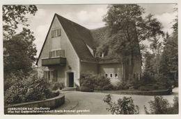 AK  Blaustein Herrlingen Ehemaliges Rommel Haus 1969 - Ansichtskarte - Germania