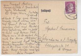 Karte Aus SPEYER 24.2.45 - Storia Postale