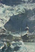 CPA 74 LE TOUR  Le Village Et Le Glacier Du Tour En Hiver - Sonstige Gemeinden