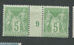 FRANCE  N°  106  **  TB - 1876-1898 Sage (Type II)