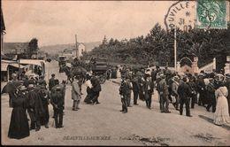 ! [14] Calvados, Cpa Deauville Sur Mer , Entree Du Champ De Courses, Eingang Zur Pferderennbahn, Calvados, 1907 - Deauville