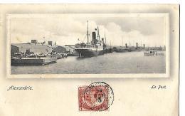 ALEXANDRIE - Le Port - Alexandrie