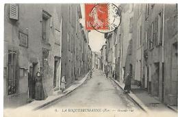 LA ROQUEBRUSSANNE - Grande Rue - 6 - édit. Paul - EN ETAT - La Roquebrussanne