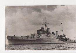 HMS Sheffield Plain Back Photo Card 097a - Guerre