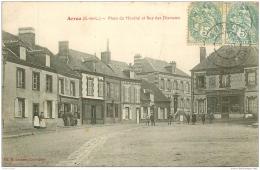 28 ARROU. Place Du Marché Rue Des Diamants 1905. Epicerie Parisienne - France