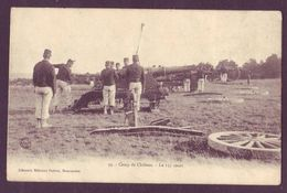 Camp De Châlons - Lot De 5 Cpa - Canon 155 Court(10scans) - Cartes Postales