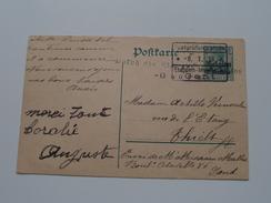 Postkarte Deutsches Reich ( GENT Belgien ) -> THIELT - Anno 1916 ( Zie/voir Foto Voor Details ) ! - Duitsland