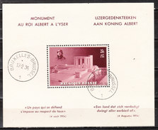 BL8  Monument Albert Ier - Oblit. - LOOK!!!! - Blocs 1924-1960