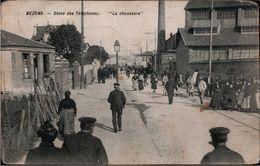 ! [95] Bezons , Usine Des Telephones, La Chaussure, Fabrik, 1911 - Bezons