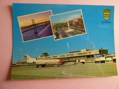 LISBOA   727 TAP        AIRPORT / FLUGHAFEN / AEROPORT/ AEROPORTO - Aerodromes