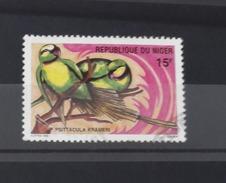 NIGER 1996 BIRDS OISEAUX YT 921B 921 B PARROT PARROTS PEROQUET PERROQUET PEROQUETS PERROQUETS USED OBLITERE - RARE - Niger (1960-...)