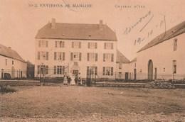 Environs De Marloie.   Chateau  D'Aye.(cachet Militaire)+scan - Altri