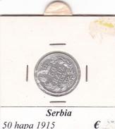 SERBIA  50 HAPA   ANNO 1915  COME DA FOTO - Serbie