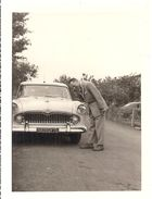 BELLE AUTOMOBILE BLANCHE  ANNEE 1950 ENVIRON - Automobiles