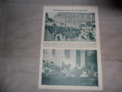 """Origineel Knipsel ( 217 ) Uit Tijdschrift """" Ons Volk Ontwaakt """"  :  Hougaerde  Hoegaarde  Hoegaarden  1928 - Vieux Papiers"""