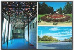 Australia/Australie: Intero, Stationery, Entier, Orologio Floreale, Floral Clock, Horloge Florale - Orologeria
