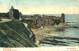 FIFE - ST ANDREWS - THE CASTLE 1906  Fif40 - Fife