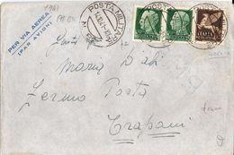 1941 Lettera Da Posta Militare 82 Per Trapani  017 - Storia Postale