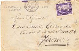 1936 Da Chisimaio Somali Per Firenze 017 - Storia Postale