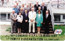 "Phonecard NTT ""50e Congres FSPL - Comité D'Organisation"", 50 Units (T.203) - Luxemburg"