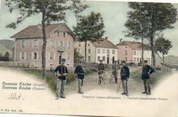 CPA - Col De SAALES (67) - Aspect De La Ferme-Auberge-Hôtel Poteau Frontière En 1905 - Sonstige Gemeinden