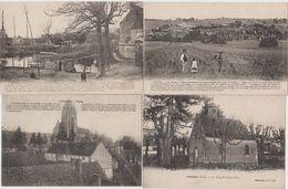 VOISINES Lot De 4 Cartes Postales Anciennes - Autres Communes