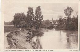 CPA DE SAINT FLORENT SUR CHER,18,DANS LES ANNEES 1939 - Saint-Florent-sur-Cher