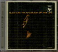 # CD Jazz: Sarah Vaughan – Sarah Vaughan In Hi-Fi - Jazz