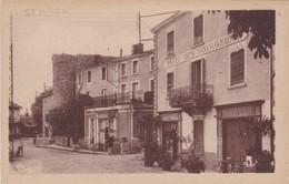 SAINT-HAON-le-CHATEL - Rue Pricncipale - Hôtel Des Voyageurs - Hôtel Auger - TBE - Francia