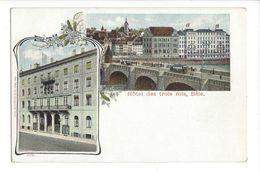 17564 -  Bâle Hôtel Des Trois Rois Tram - BS Bâle-Ville