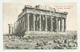 PARTHENON NORD OUEST  VIAGGIATA  FP - Grecia