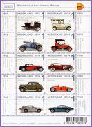 Netherlands. Nederland 2014. Museum Of Cars. Transport. Cars.  MNH - Unused Stamps