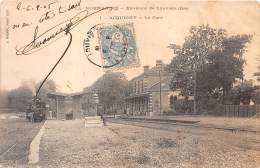 27 - EURE / Acquigny - 27577 - La Gare - Beau Cliché - Acquigny