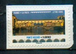 France 2017 - Italie, Toscane, Florence, Ponte Vecchio / Italy, Tuscany, Florence, Ponte Vecchio - MNH - Bridges