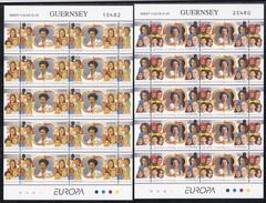 Guernsey, 1996, 691/92, Europa. MNH **, Sheetlet - Guernesey