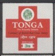 Tonga 1970 Nobel Red Cross Croix Rouge  3 S - Nobel Prize Laureates