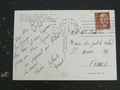 ESPAGNE ESPANA YT 867 GENERAL FRANCO - TENERIFE PUERTO DE LA CRUZ - PLAGE PLAYA MARTIANEZ - 1931-Oggi: 2. Rep. - ... Juan Carlos I