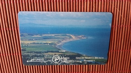 Phonecard Manx Telecom 10 Units Great North Beach (Mint,Neuve) Rare - Isle Of Man